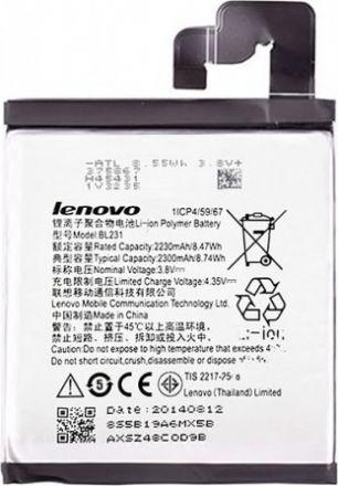 Батерия за мобилен телефон Lenovo A6000 BL242