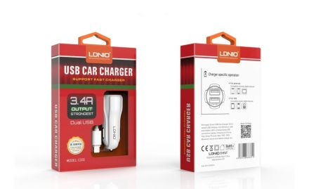 Зарядно устройство за мобилни телефони, таблети, PSP, MP3 и камери