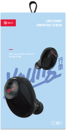 Bluetooth Headset Dprui DM-1 Mini ( Бял )