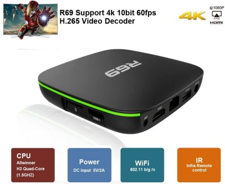 ТВ Бокс MXQ Pro Android 10.1 4K 4GB RAM 32GB ROM