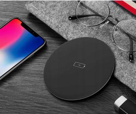 Зарядно Адаптор за безжично зареждане на телефон Qi Wireless