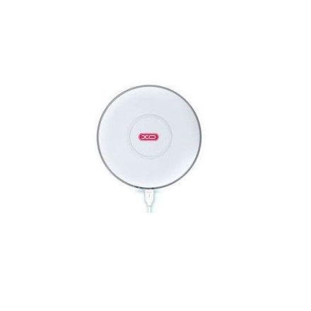 Зарядно Адаптор за безжично зареждане XO WX010 /Бял/ Qi Wireless