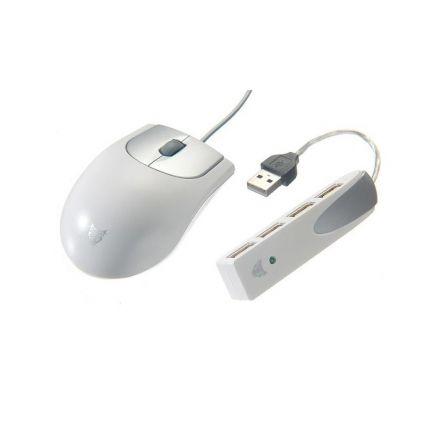 Комплект оптична мишка с Usb Hub