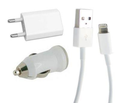 Комплект зарядни устройства за IPhone 5G/5S/5C